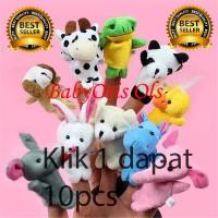 Boneka jari animal / animal finger puppet