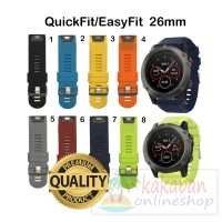 Garmin Strap Band QuickFit 26mm Watch for Fenix 3, Fenix 5X, D2 bravo
