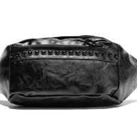 Tas slempang kulit pria cowok korea selempang slingbag HTI0735