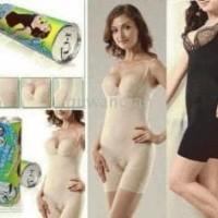 Bambo Kaleng Slimming Suit L XL Hitam