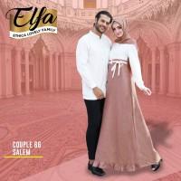 Couple Ethica 66 Salem (link untuk Gamis S,M,L)
