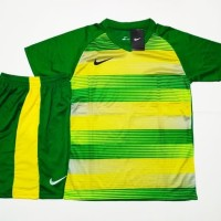 Jersey Baju Setelan Futsal Bola Nike Printing NK31 Green