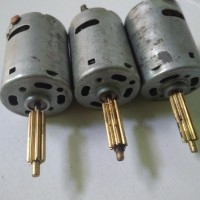 Dinamo Motor Mainan DC 6 - 12 volt plus metal gear murah