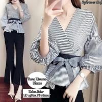 Promo Rena Kimono Blouse Black
