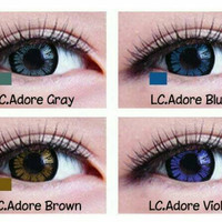 Softlens living color black