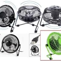 Kipas angin besi usb mini fan kuat dan praktis