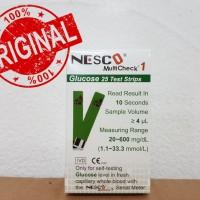 Strip Nesco gula darah / glucose
