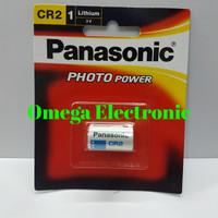 Baterai Panasonic CR2 3V Lithium Battery CR 2 Photo Power Batre