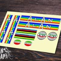 Stiker & Decal Frame Sepeda ALAN
