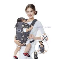 Baby Scots Carrier Print Character/ gendongan bayi / gendongan kanguru
