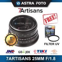 7ARTISANS 25mm F/1.8 FOR FUJIFILM FUJI X LENS