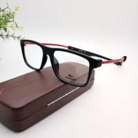 Terbaru!! Frame Kacamata Minus LACOSTE Magnet Free Lensa