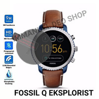 Tempered Glass Smartwatch Fossil Q Explorist