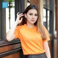 Kaos Polos Koze Combed 30 s ( Premium Comfort Orange )