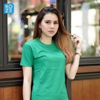 Kaos Polos Koze Combed 30 s ( Premium Comfort Green )