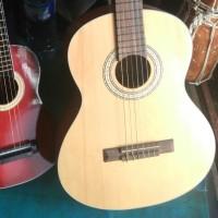 Gitar klasik nilon impor ukuran 1/2 junior