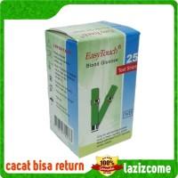 Strip Cek Tes Gula Darah Stik Easy Touch Refil Glucose 25