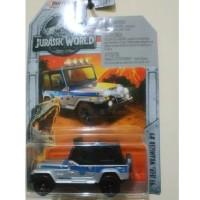 Matchbox Jeep Wrangler Jurrasic World