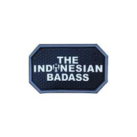 MOLAY THE INDONESIAN BADASS PVC Patch