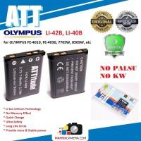 ATT Battery Olympus LI-42B Baterai Batere for FE-4010, FE-4030, 850SW