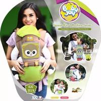 Gendongan Bayi Depan Hipseat Hip Seat Baby Joy Mochino BJG3024 - Cute Yellow