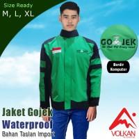 PREMIUM Jaket Gojek Waterproof Bahan Taslan Balon IMPORT M, L, XL, XXL