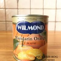 WILMOND MANDARIN ORANGE 175GR (BUAH JERUK MANDARIN DALAM SIRUP)