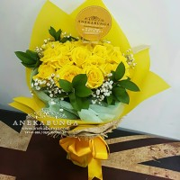 Buket Bunga Mawar Asli Fresh Rose Hand Bouquet Flower bucket segar box