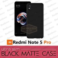 Xiaomi Redmi Note 5 Pro BLACK MATTE CASE / Blackmatte Babyskin