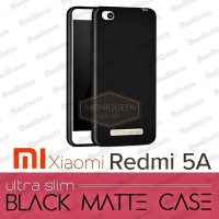 Xiaomi Redmi 5A BLACK MATTE CASE / Blackmatte Babyskin Casing