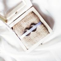 RING BOX 10x10x5 - KOTAK CINCIN RUSTIC - RINGBOX - WEDDING RING BOX