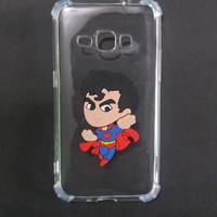 Case Samsung J1 2015 J100 Anti Crack Gambar Karakter 3D Superman