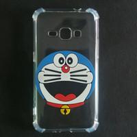 Case Samsung J1 2015 J100 Anti Crack Gambar Karakter 3D Doraemon