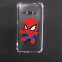 Case Samsung J1 2015 J100 Anti Crack Gambar Karakter 3D Spiderman