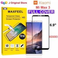 MAXFEEL Tempered Glass Xiaomi Mi Max3 Mi Max 3 Full Curved Premium