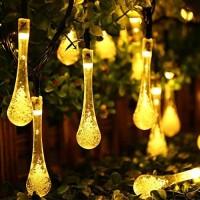 LAMPU HIAS OUTDOOR/Lampu NATAL LED/LAMPU TAMAN Raindrop Waterproof