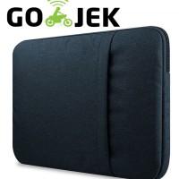 Tas Laptop / Softcase Nylon for Macbook 15,6 inch Sleeve Case - Black