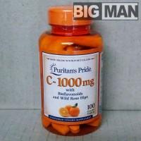 Puritans Pride Vitamin C1000 C 1000 C-1000 mg 100 Caplets Caps 100Caps