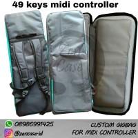 custom gigbag case midi controller keyboard 49 keys