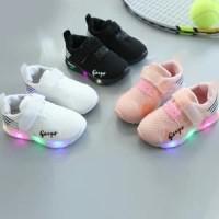 Sepatu Sneakers Anak Geeps Sport Import Murah Lampu LED