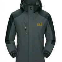 Jaket Gunung/Outdoor Jack Wolfskin 1303 Goretex Waterproof - Grey