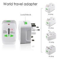 Colokan stop kontak universal international travel adaptor all in one