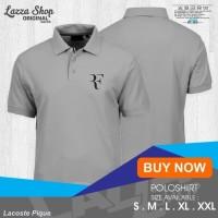 NEW Poloshirt / Polo Kaos / Baju Kerah Olahraga RF Roger Federer