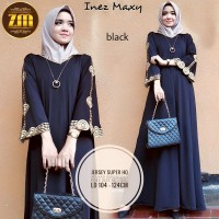 Gamis muslim hitam dress muslim hitam dress pesta murah abaya turkey