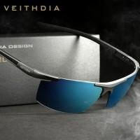 Kaca mata Pria Original VEITHDIA Polarized Sunglasses mens 6588