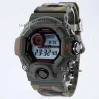 G Shock Rangeman Ori Bm GW-9400 Loreng Camo Hijau Army GW-9400CMJ-3