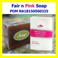 Promo Fair N Pink Brightening Black Soap Bpom