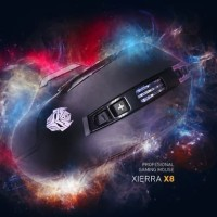 Rexus X8 Mouse Gaming Xierra Rexus X-8 RGB