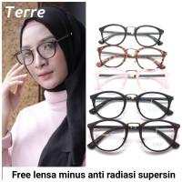 Frame Kacamata minus kacamata cewek kacamata Hijab Tere