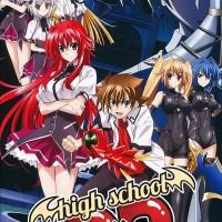 Kaset DVD Film Anime High School DXD